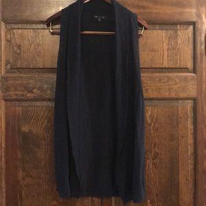 Long knit lightweight cardigan GAP size medium
